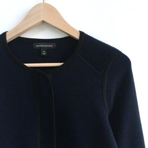 Banana Republic Sweater Jacket - size xs